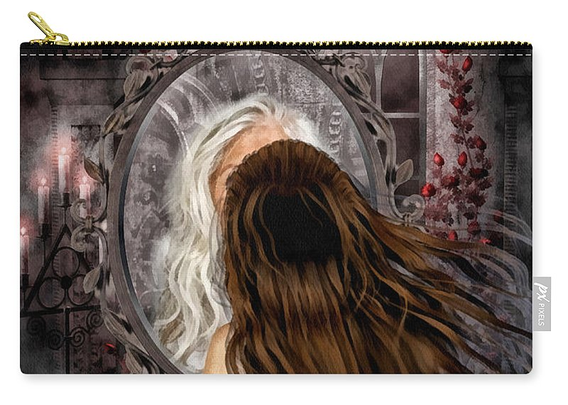 Immortality Carry-all Pouch featuring the painting Immortality by Mo T