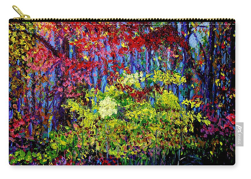 Impressionism Carry-all Pouch featuring the painting Impressionism 1 by Stan Hamilton