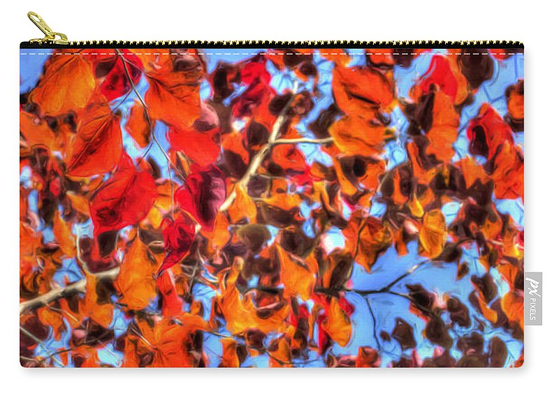 Carry-all Pouch featuring the photograph Impressions Of Autumn by Heidi Smith