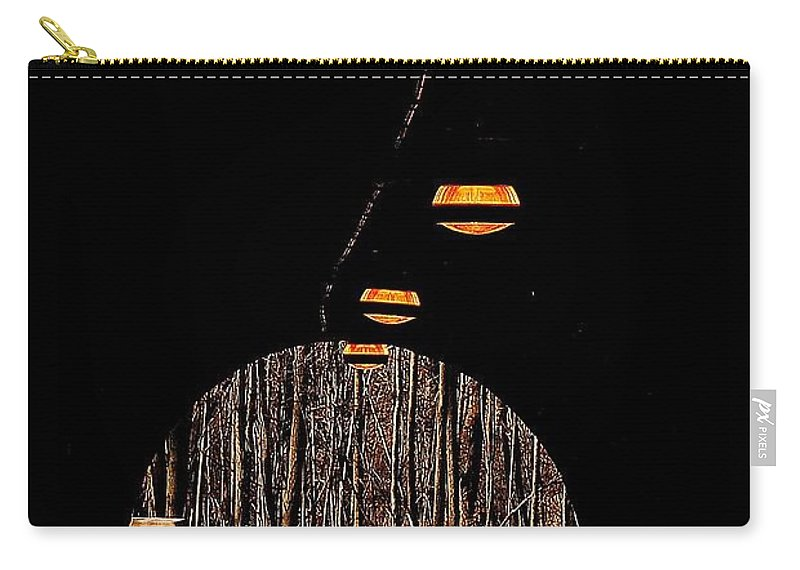 Tunnel Carry-all Pouch featuring the photograph In Deep Thought by Frozen in Time Fine Art Photography