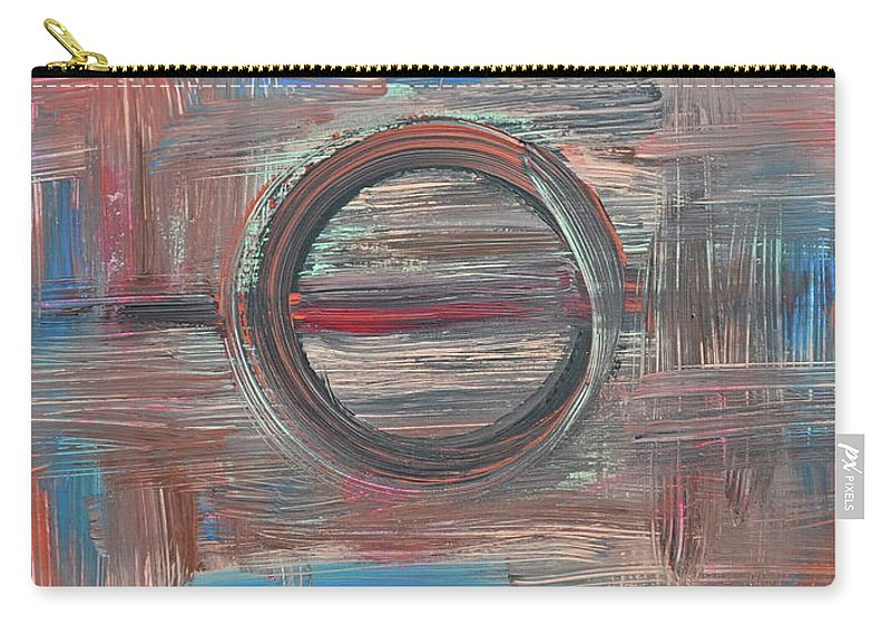 Abstract Carry-all Pouch featuring the painting In Focus by Kimberly Maxwell Grantier