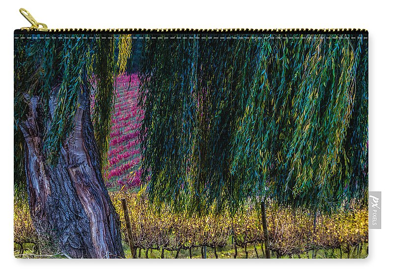 Field Carry-all Pouch featuring the photograph In Leaf Fall by Edgar Laureano