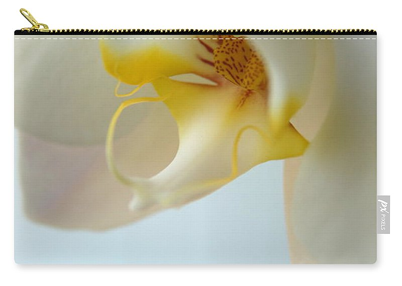 Orchid Carry-all Pouch featuring the photograph In Orchid Light by Neal Eslinger
