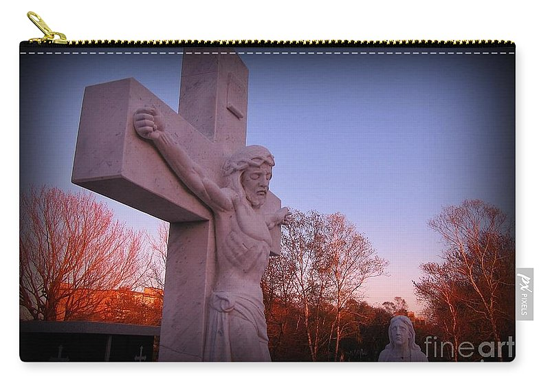 In Sacrifice Is Peace Carry-all Pouch featuring the photograph In Sacrifice Is Peace by John Malone