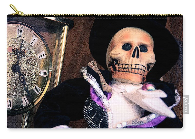 Day Of The Dead Carry-all Pouch featuring the photograph In The Fullness Of Time by Joe Kozlowski