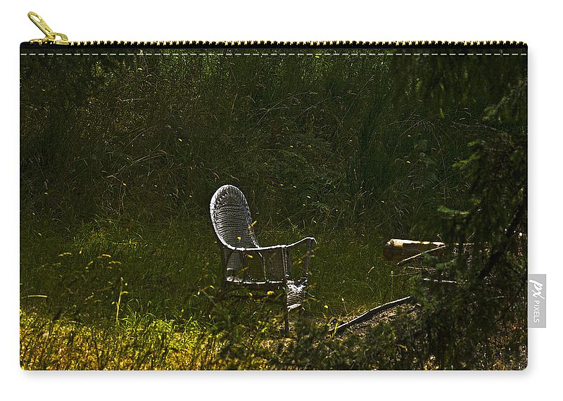 Wicker Carry-all Pouch featuring the photograph In Wait by Rob Mclean