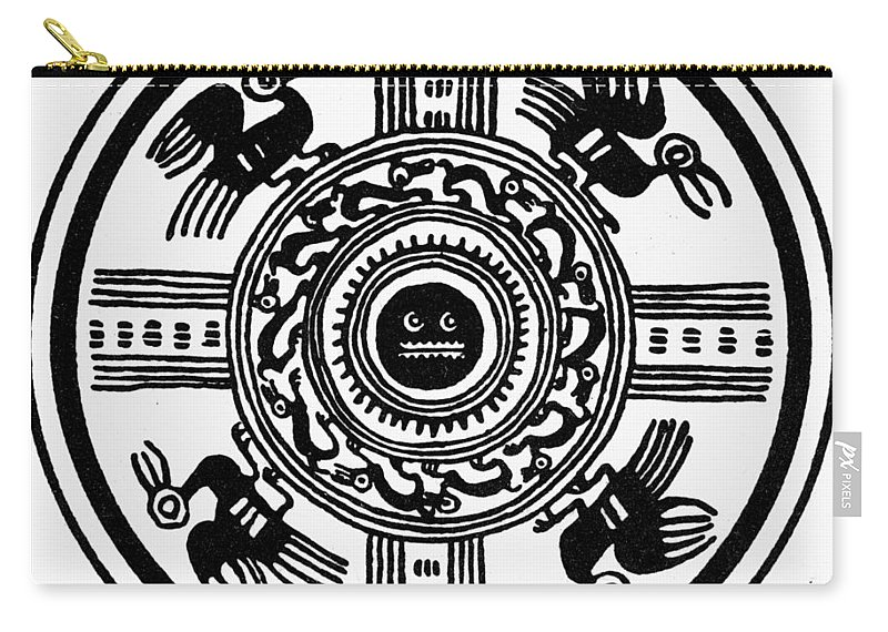 American Indian Carry-all Pouch featuring the photograph Incan Universe by Granger