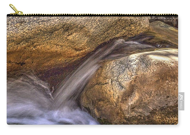 Pictorial Carry-all Pouch featuring the photograph Indian Canyons 11 Andreas Canyon by Roger Passman