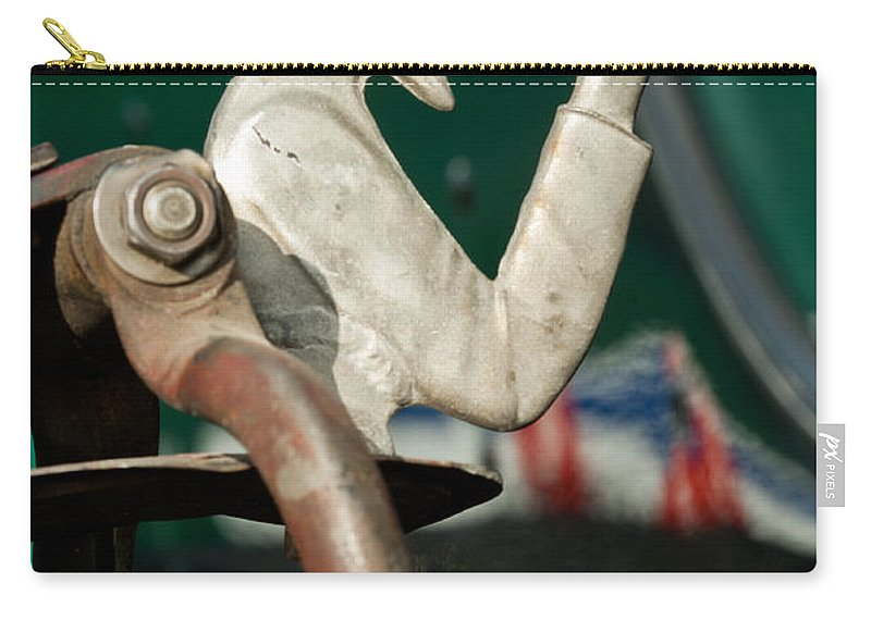 Indian Chopper Carry-all Pouch featuring the photograph Indian Chopper Ornament 2 by Jill Reger