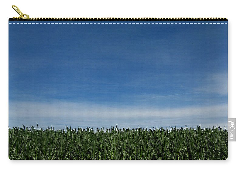 Corn Carry-all Pouch featuring the photograph Indiana Summer by Dan McCafferty