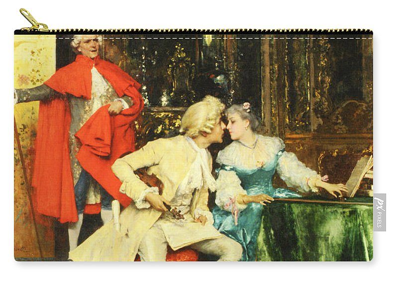 Federico Andreotti Carry-all Pouch featuring the photograph Indiscretion by Federico Andreotti