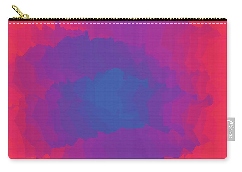 Presentation Carry-all Pouch featuring the digital art Inferno Background by Calvindexter