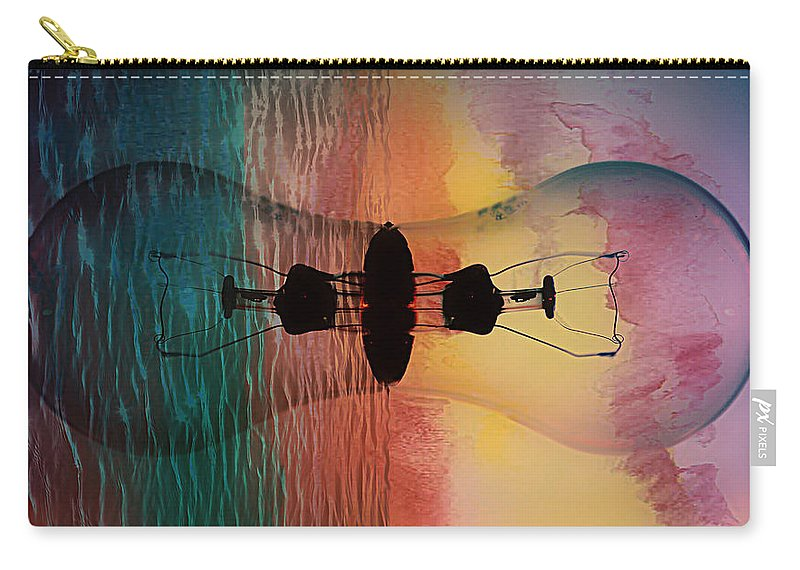 Ideas Carry-all Pouch featuring the photograph Infinite Ideas by Aaron Berg