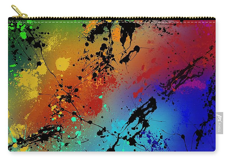 Original Carry-all Pouch featuring the painting Infinite M by Ryan Burton