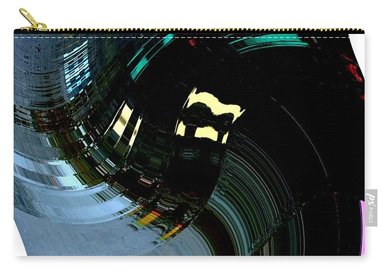 Modern Art Carry-all Pouch featuring the photograph Infinity Dancer 3 by Cj Carroll