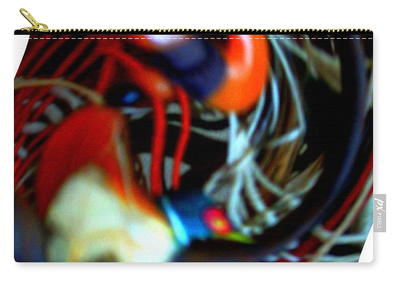 Modern Art Carry-all Pouch featuring the photograph Infinity Dancer 7 by Cj Carroll