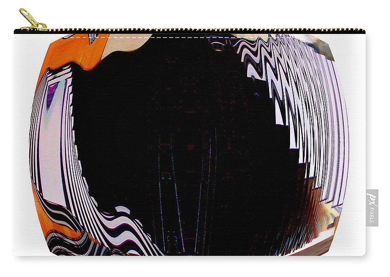 Abstract Carry-all Pouch featuring the photograph Infinity Drum 1 by Cj Carroll