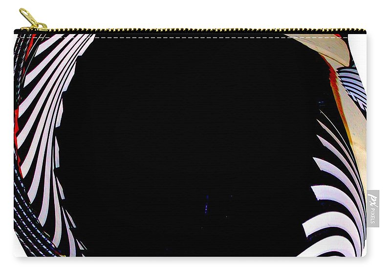 Modern Art Carry-all Pouch featuring the photograph Infinity Drum 3 by Cj Carroll