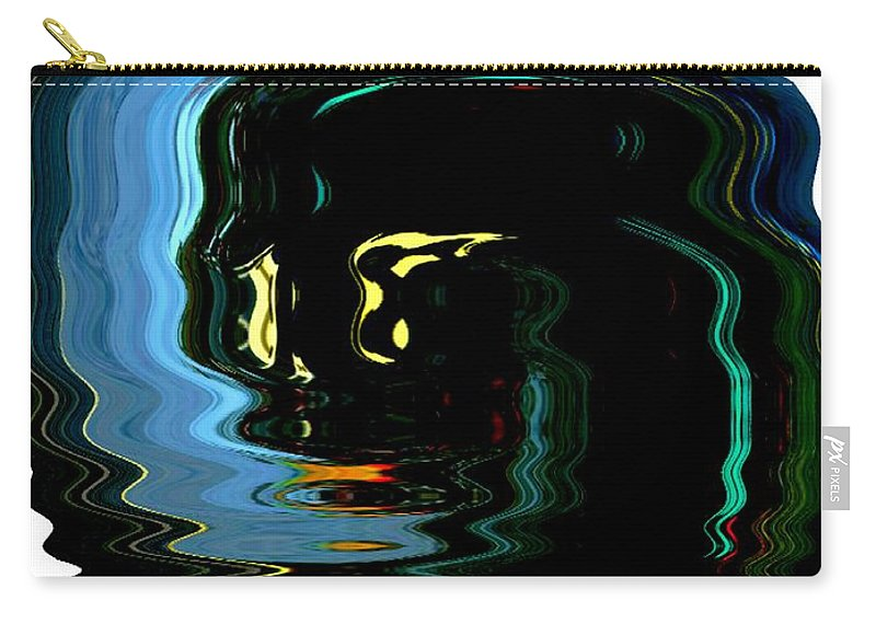 Modern Art Carry-all Pouch featuring the photograph Infinity Jar Drink Me by Cj Carroll