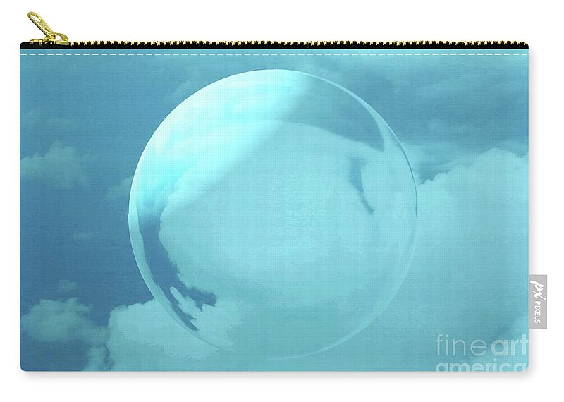 Sky Carry-all Pouch featuring the photograph Infinity by Kathleen Struckle
