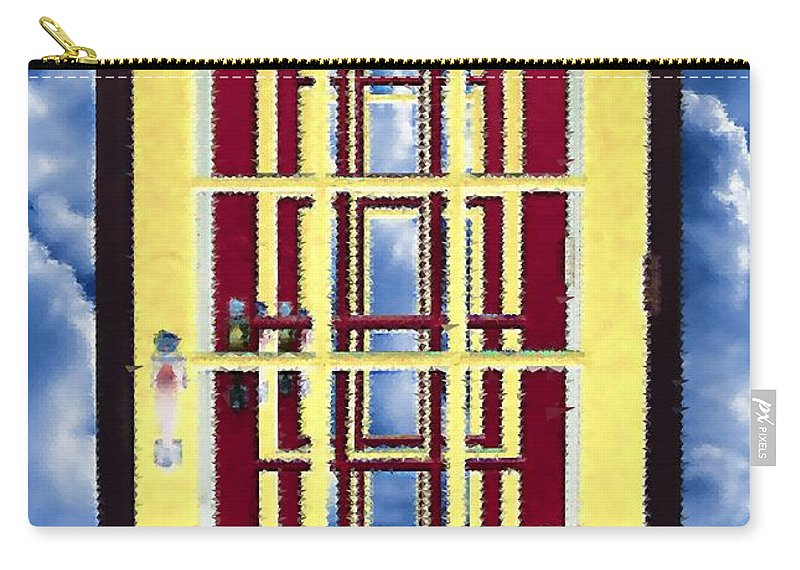 Doors Carry-all Pouch featuring the painting Infinity by RC DeWinter