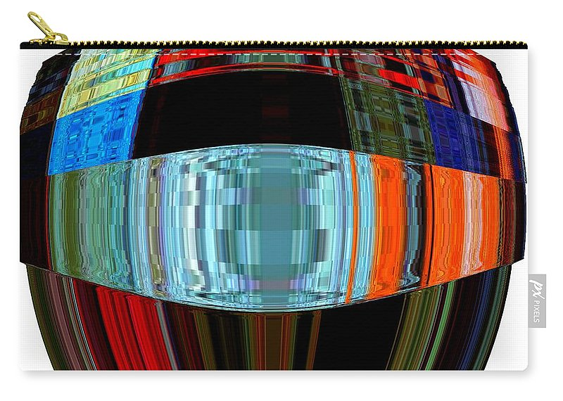 Modern Art Carry-all Pouch featuring the photograph Infinity Ring 2 by Cj Carroll