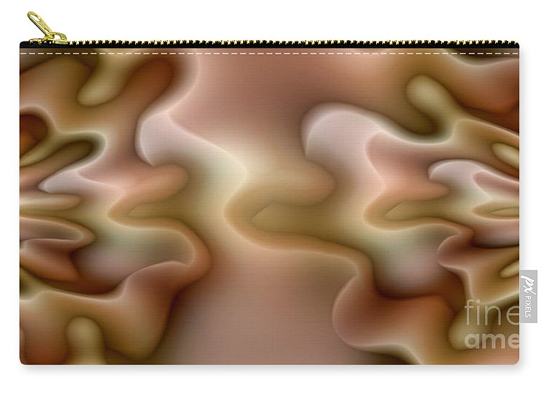 Influence Carry-all Pouch featuring the digital art Influence by Mo T