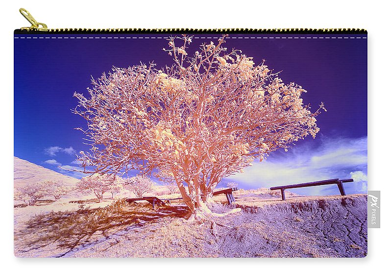 Chile Carry-all Pouch featuring the photograph Infrared Tree by Jess Kraft