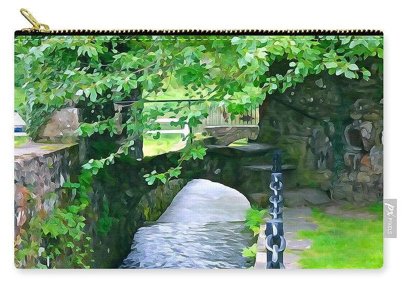 Inistioge Carry-all Pouch featuring the photograph Inistioge Park by Charlie and Norma Brock