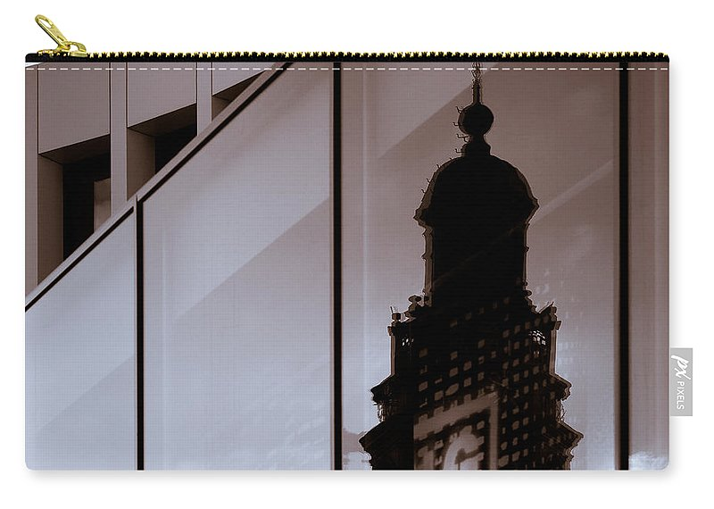 Maastricht Carry-all Pouch featuring the photograph Inner City by Dave Bowman