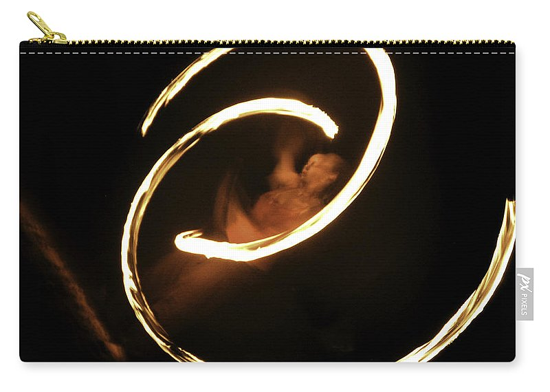Fire Dancer Carry-all Pouch featuring the photograph Inner Peace by Lovejoy Creations
