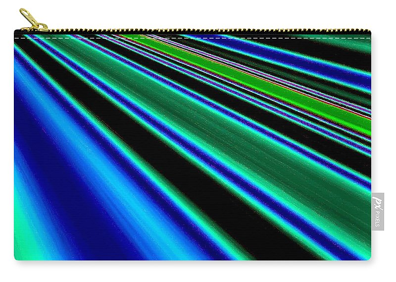 Abstract Carry-all Pouch featuring the digital art Inspiration 2 by Will Borden