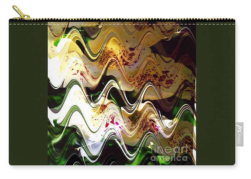 Digital Image Carry-all Pouch featuring the digital art Inspiration by Yael VanGruber