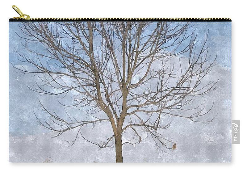 Tree Carry-all Pouch featuring the photograph Inspirations 3 by Sara Raber