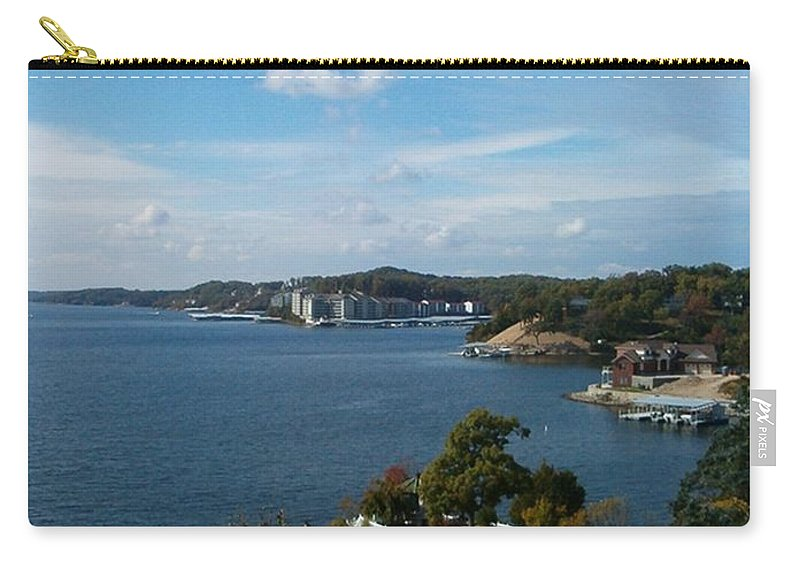Lake Carry-all Pouch featuring the photograph Inspirations 6 by Sara Raber
