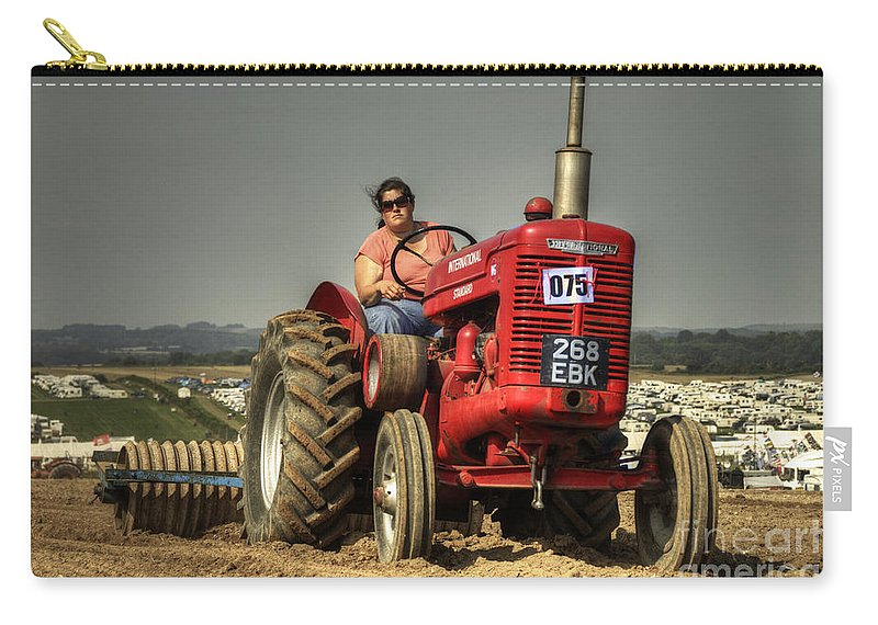 International Carry-all Pouch featuring the photograph International W6 by Rob Hawkins