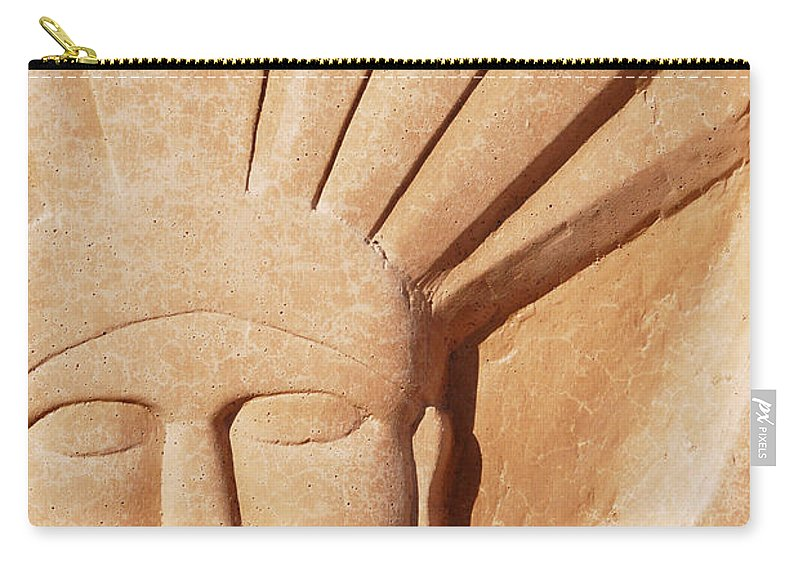 Interstate 10 Carry-all Pouch featuring the photograph Interstate 10 Project Outtake_0010373 by Arthur BRADford Klemmer