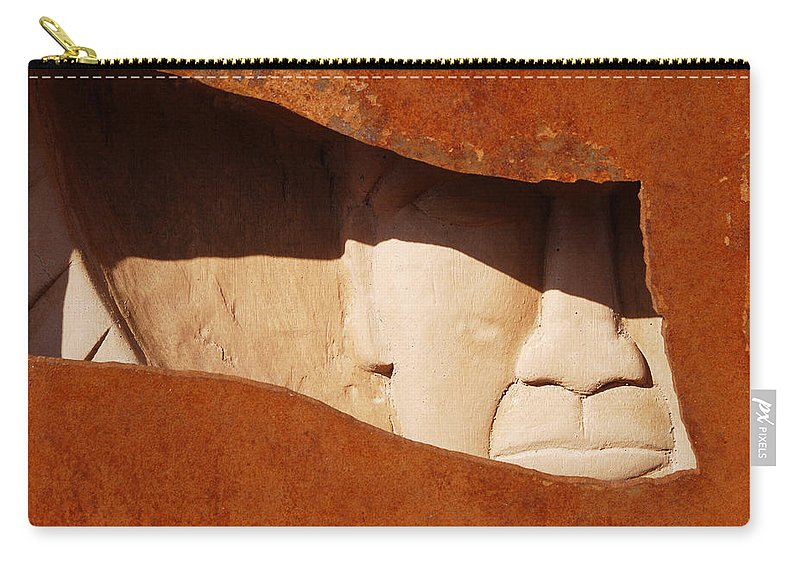 Interstate 10 Carry-all Pouch featuring the photograph Interstate 10 Project Outtake_0010413 by Arthur BRADford Klemmer