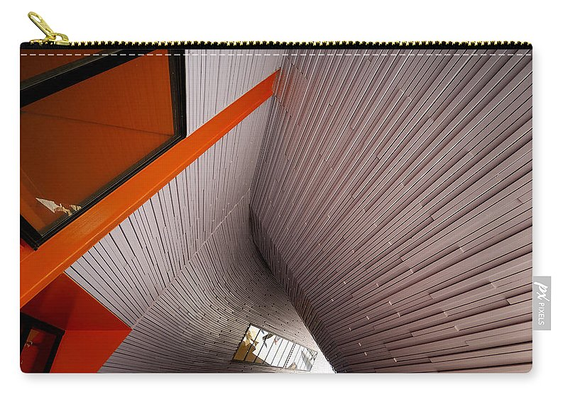 Architecture Carry-all Pouch featuring the photograph Into The Abyss by Wayne Sherriff