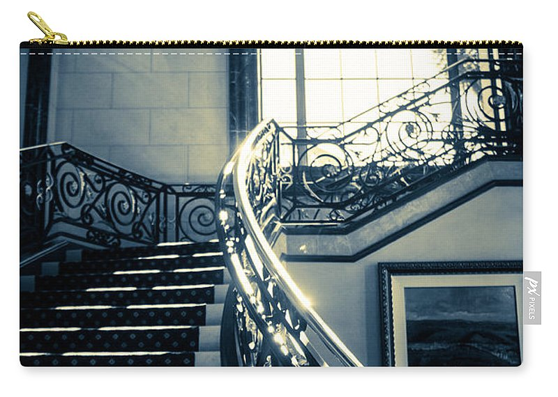 Window Carry-all Pouch featuring the photograph Into The Light by Lauri Novak