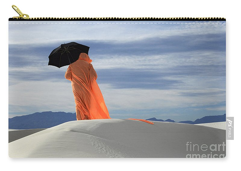 Into The Mystic Carry-all Pouch featuring the photograph Into The Mystic 4 by Bob Christopher