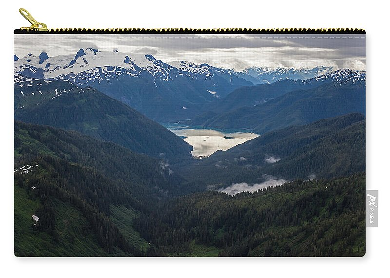 Frederick Sound Carry-all Pouch featuring the photograph Into The Wild by Mike Reid