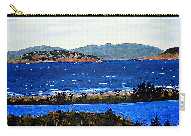 Islands Carry-all Pouch featuring the painting Iona formerly Rams Islands by Barbara Griffin