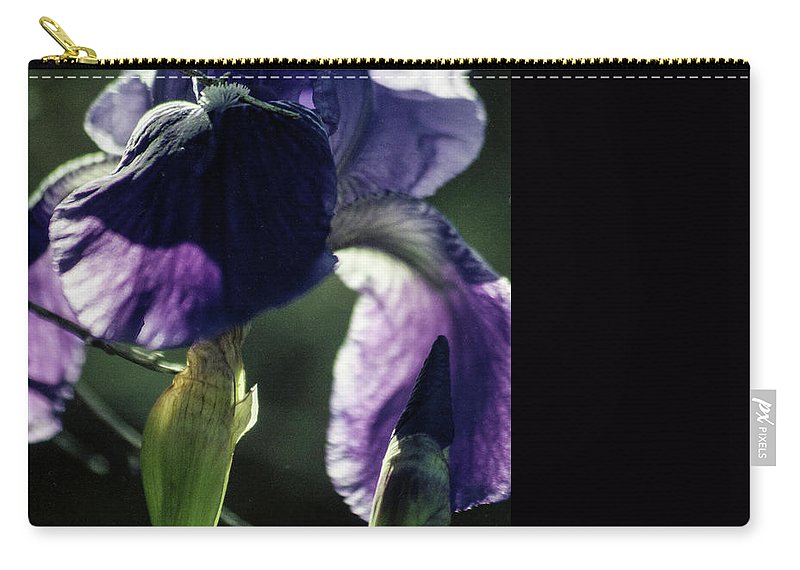 Flowers Carry-all Pouch featuring the photograph Spring's Gift by Kathy McClure