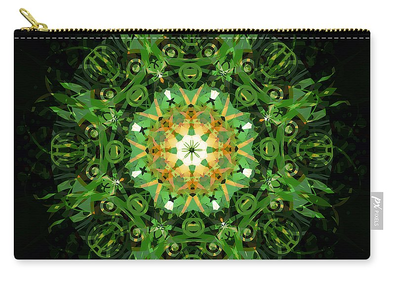 Irish Carry-all Pouch featuring the mixed media Irish Influence 2 by Angelina Vick