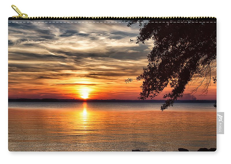 Sunset Carry-all Pouch featuring the photograph Is This Heaven? by Lynne Jenkins