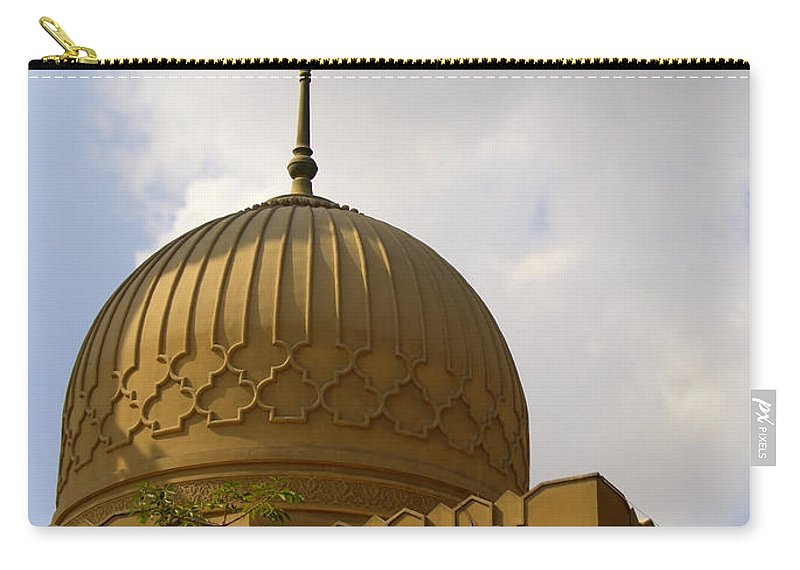 Egypt Carry-all Pouch featuring the photograph Islamic Mosque 05 by Antony McAulay