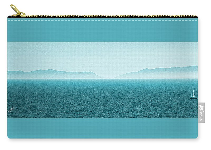 Seascape Carry-all Pouch featuring the photograph Island by Ben and Raisa Gertsberg