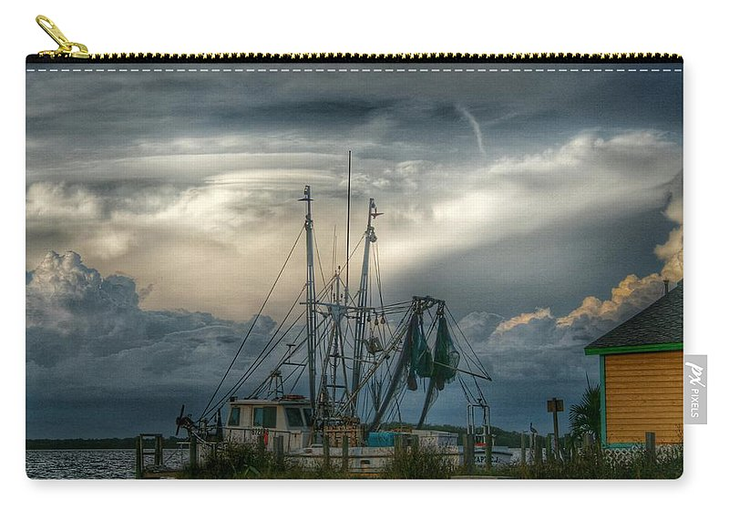 Fishing Carry-all Pouch featuring the photograph Island Life by Jeannine Rose