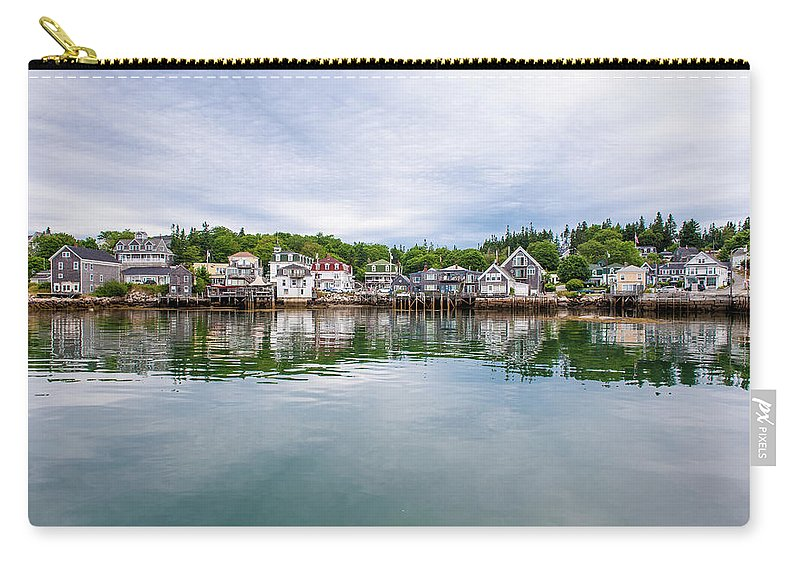 Town Carry-all Pouch featuring the photograph Island Village by Edwin Remsberg